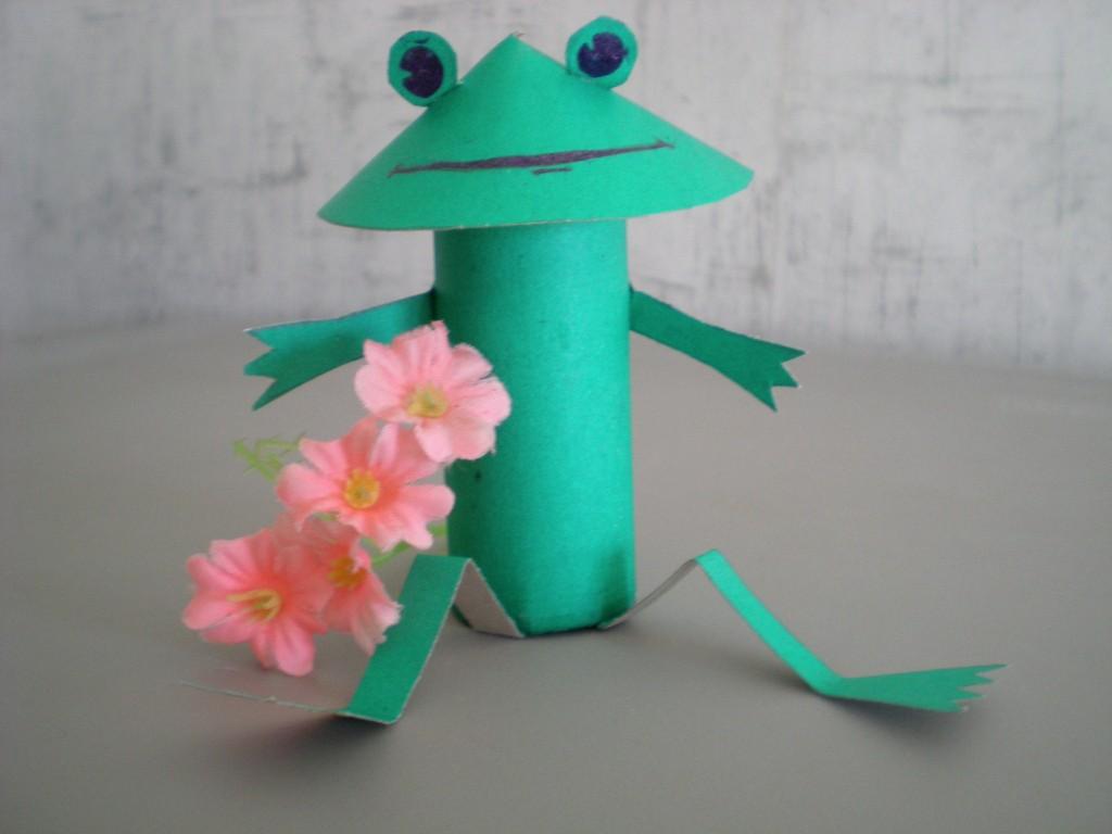 Поделка лягушки из 13