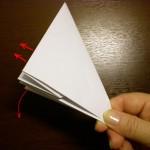 Хлопушка из бумаги, оригами