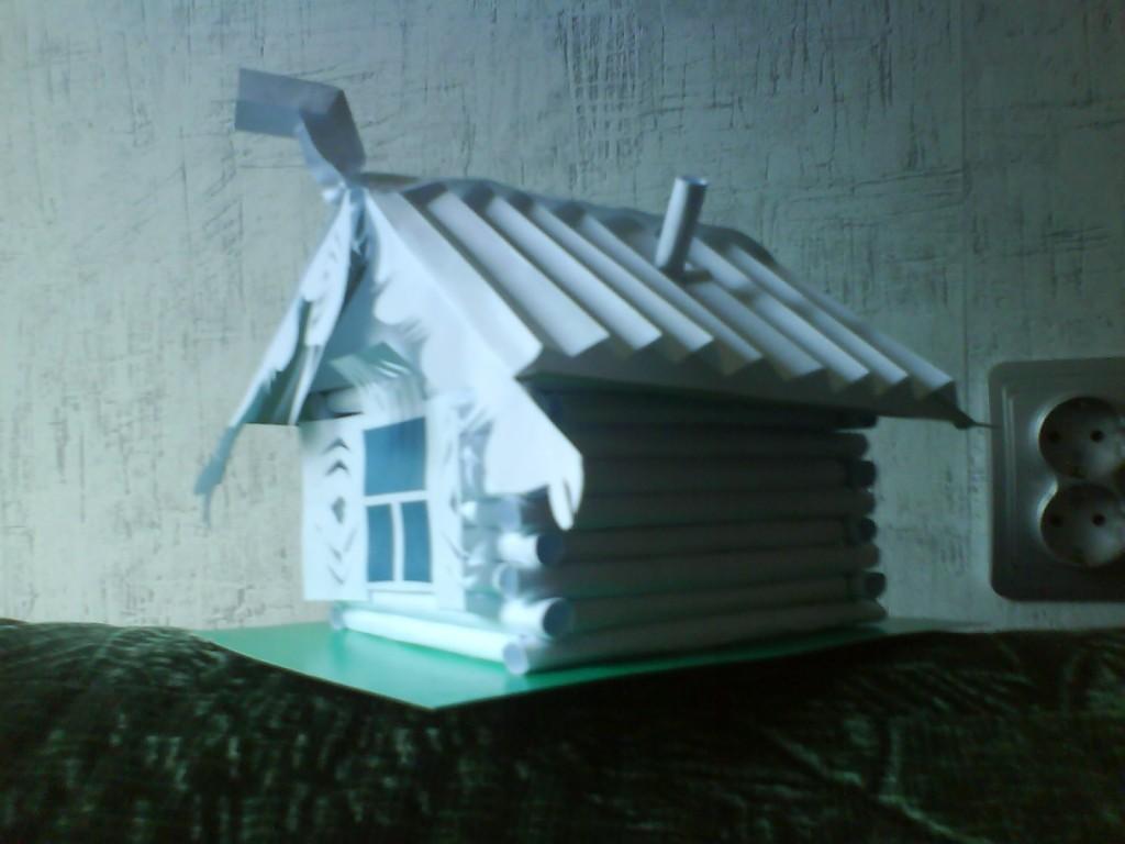 Как сделать крышу бумажному домику - Led1000.ru