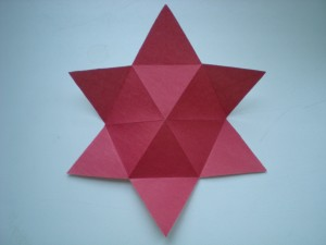Звезда объемная из бумаги своими руками к