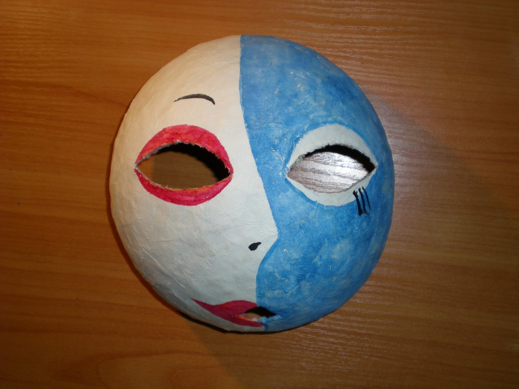 Основа для маски из папье маше своими руками 6