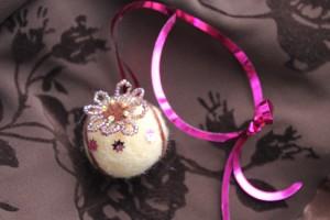 Сухое валяние для начинающих: шарик из шерсти